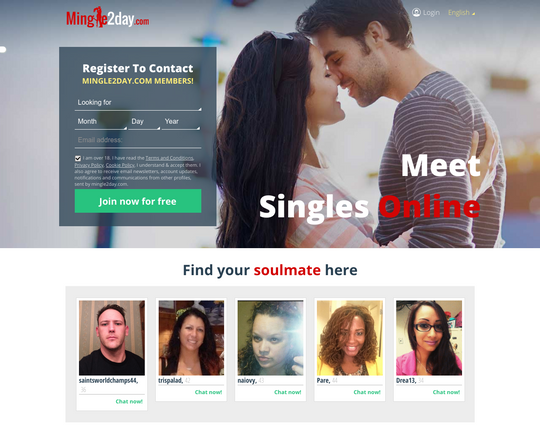 Mingle2day.com Logo